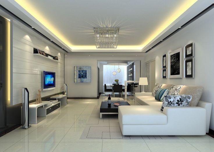 Como montar uma sala de tv decorando casas - Wall design for living room philippines ...